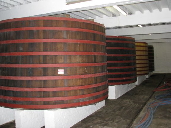 West-Vlaamse bieren van spontane gisting worden gerijpt in houten foeders.