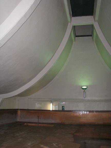 Het open koelschip kenmerkt eveneens de West-Vlaamse bieren van spontane gisting.