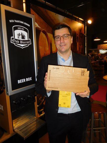 Door te innoveren met een koel-tapkast voor oude geuze ontving Oud Beersel een Horeca Expo Award