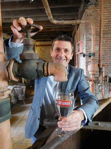 Met alcohol verdwijnen ook aroma en smaak uit het bier, zegt Filip Delvaux.