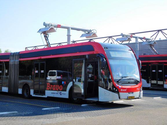 Elektrische bus EIndhoven