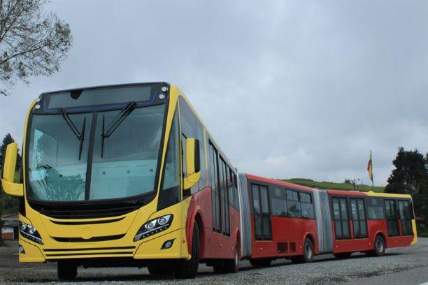 Scania CNG Bogota