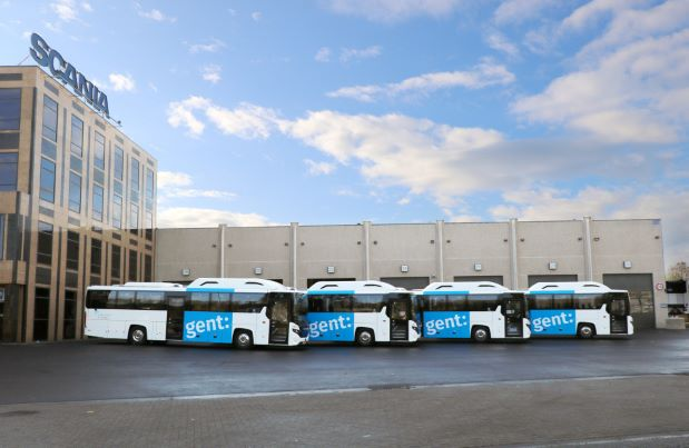 Scania Interlink CNG Stad Gent