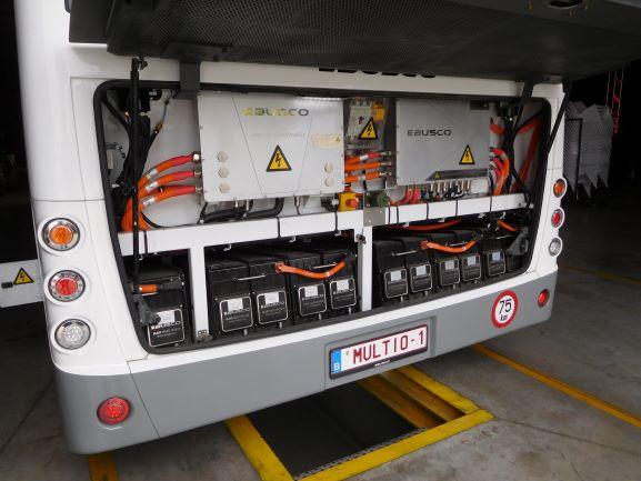 Multiobus Ebusco 2.1. Elektrische bus