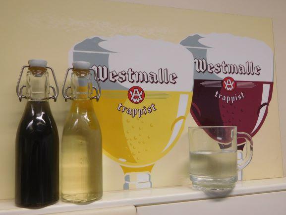 Trappist Westmalle Vijf liter water voor één liter bier