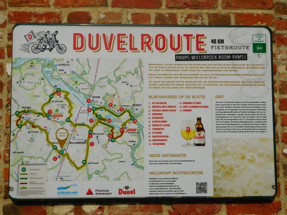Duvelroute Duvel