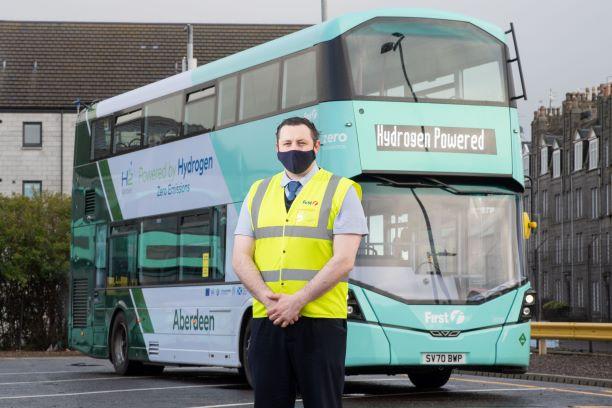 First Bus Aberdeen hydrogen