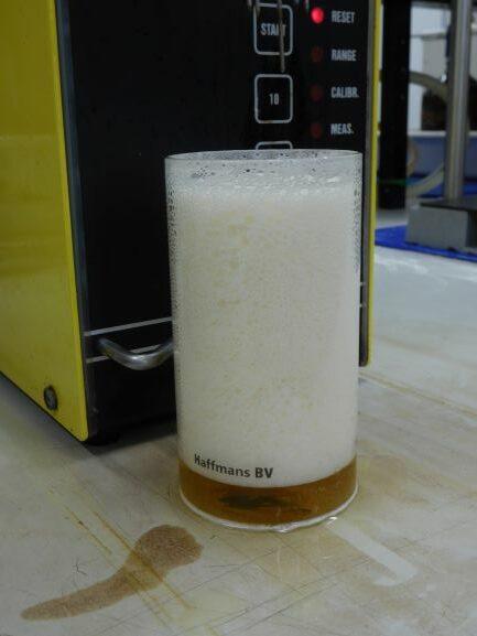 Bier schuim Delvaux