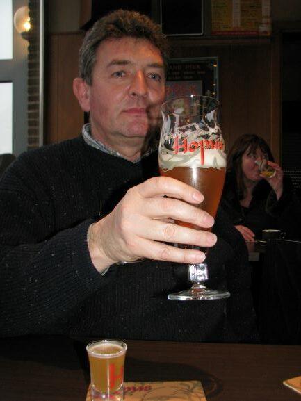 Philippe Lefebvre, met of zonder gist in het glas